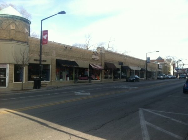 Neighborhood Street Level Strip